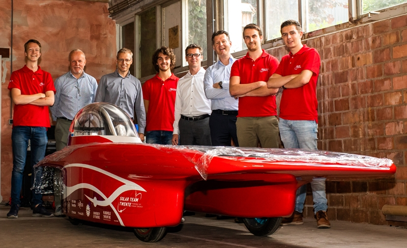 Hero image - Sola Solar Team Twente 1 2