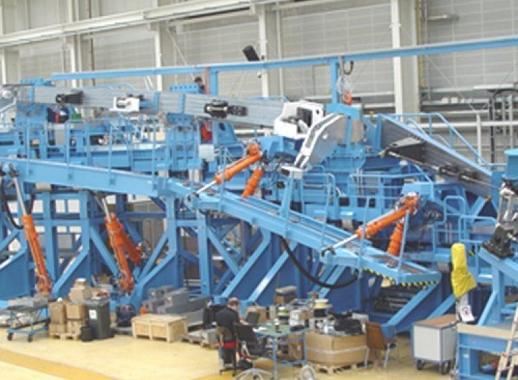 Aerospace: Test- und Versuchsanlage Aerospace Machinebouw Aerospace testbank 01 - Careers (DE)