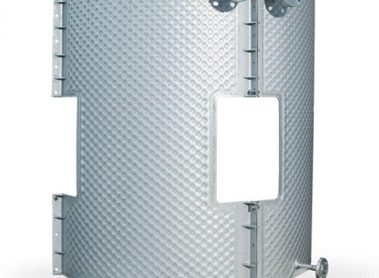 Plate coolers for milk tank - VIRO EN