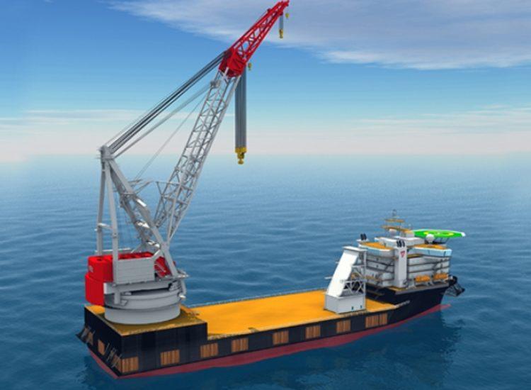 Ontwerp 5000 metric ton kraan op schip Maritiem offshore machinebouw loopwielsysteem kraan op schip 2 - Careers (NL)