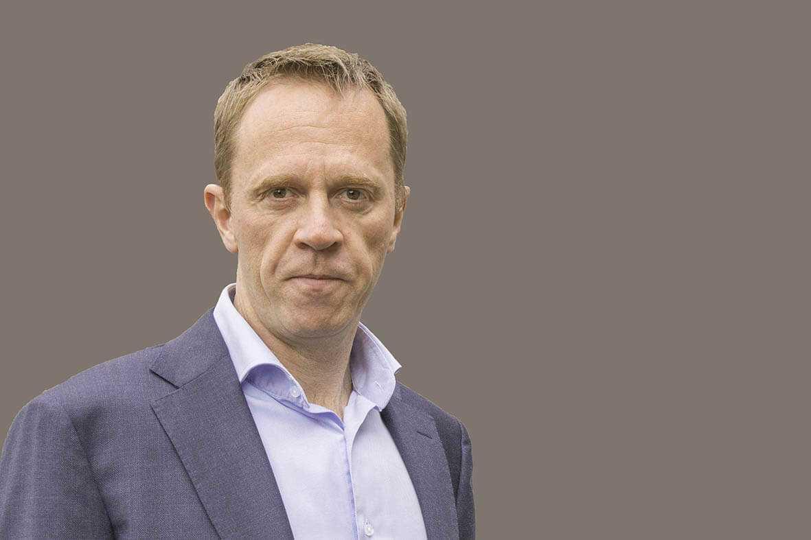 Portrait of Jeroen Scheublin - Viro Group